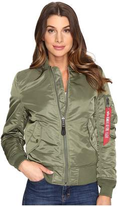 Alpha Industries MA-1 Flight Jacket Women's Coat
