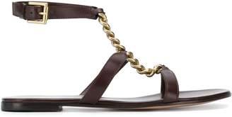 Gianvito Rossi chain detail sandals