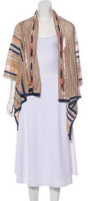 Missoni Asymmetrical Knit Cardigan