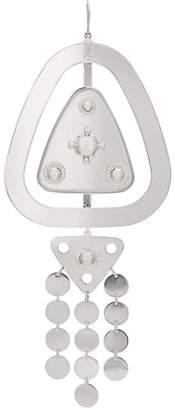 Maison Margiela Women's Oversized Double-Drop Earring