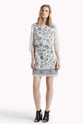 Great Plains Ferne Burnout Tunic Dress