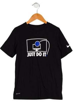 Nike Boys' Graphic Print Shirt