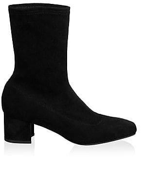 f494c37f724 Aquatalia Black Suede Women s Boots - ShopStyle