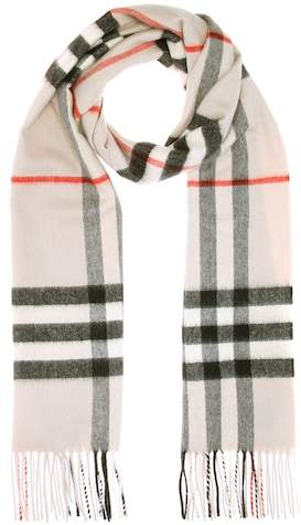 Burberry Printed cashmere scarf