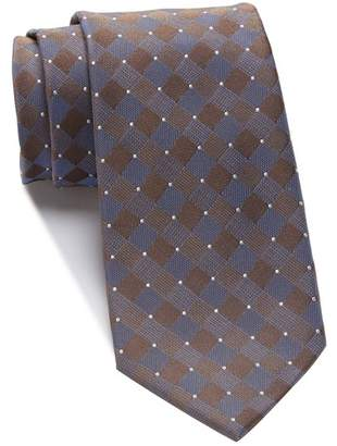 Kenneth Cole Reaction Tonal Box Grid Tie