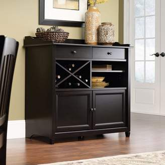 Sauder Edge Water Sideboard, Estate Black