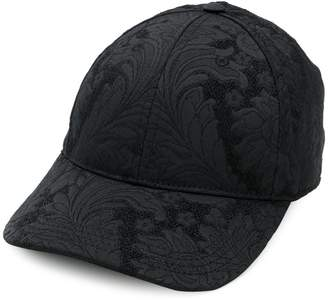 Dolce & Gabbana floral embroidered cap