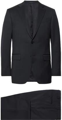 Ermenegildo Zegna Midnight-Blue Slim-Fit Wool-Twill Suit