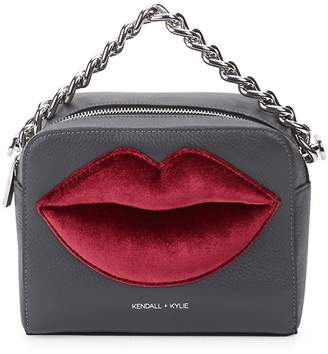 KENDALL + KYLIE Women's Lucy Lips Crossbody Bag