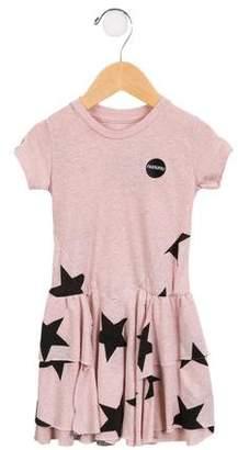 Nununu Girls' Star A-Line Dress w/ Tags