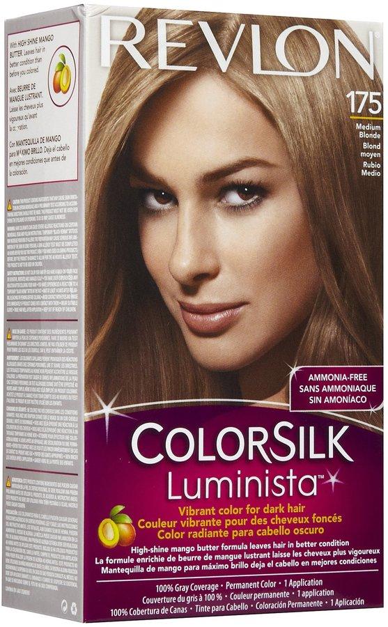Revlon Colorsilk Luminista Permanent Hair Color-Dark Golden Brown