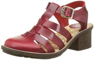 Fly London Women CELO511FLY T-Bar Sandals,40 EU