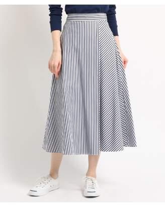 Dessin (デッサン) - Ladies [洗える][後ろウエストゴム]タイプライターストライプ スカート