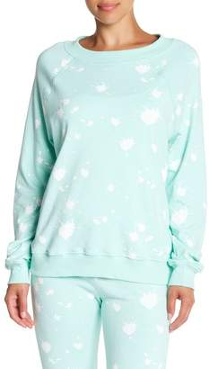 Wildfox Couture Paint Splatter Sommers Sweatshirt