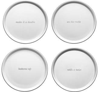 Kate Spade Silver Street Coasters S/4