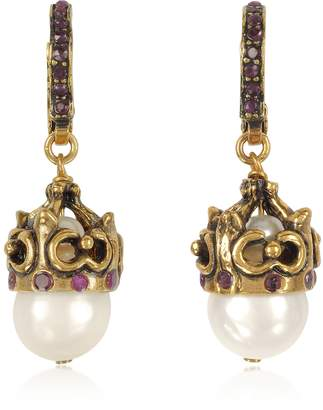 Alcozer & J Pearl Earrings