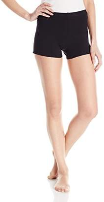 Danskin Women's Cotton 3 Inch Dance Short