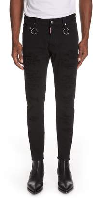 DSQUARED2 Destroyed Skinny Jeans