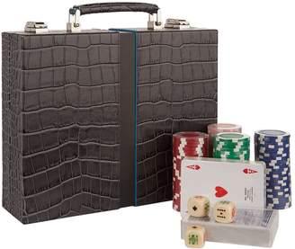 Arte Pellettieri Deluxe Poker Set in Briefcase