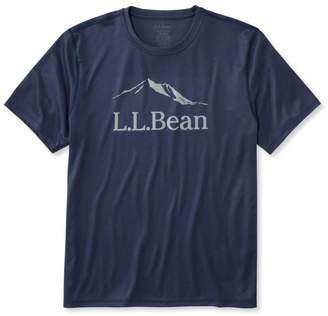 L.L. Bean L.L.Bean Reflective Running Tee, Regular