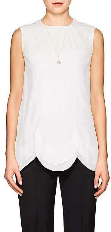 Prada Women's Silk Crêpe De Chine Top