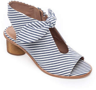Bernardo Luna Striped Knotted Sandals