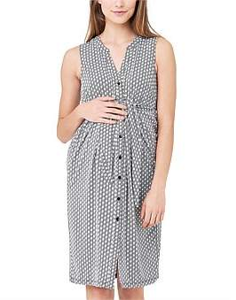 Ripe Maternity Geo Caress Dress