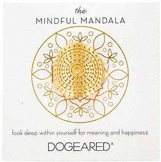 Dogeared The Mindful Mandala Center Square Ring