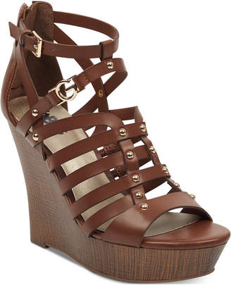 G by Guess Dezzi Wedge Sandals Women Shoes
