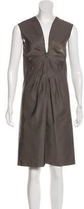 Prada Sleevless Shift Knee-Length Dress
