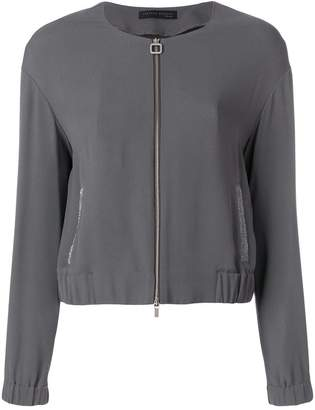 Fabiana Filippi round neck jacket