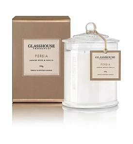 Glasshouse Fragrances Persia Triple Scented Candle