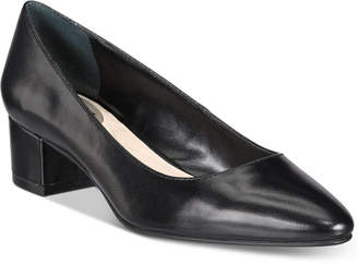 Alfani Women's Step 'N Flex Daleah Block-Heel Pumps, Only At Macy's $69.50 thestylecure.com