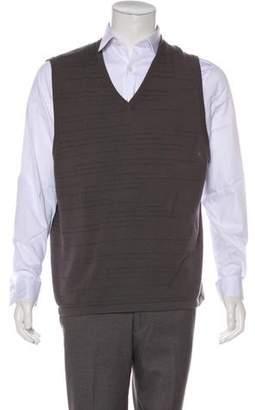 TSE Intarsia Cashmere Sweater Vest