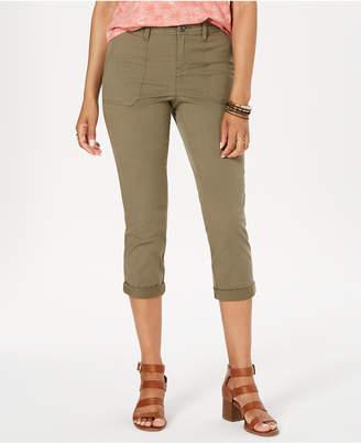 Style&Co. Style & Co Petite Utility Pocket Capri Pants