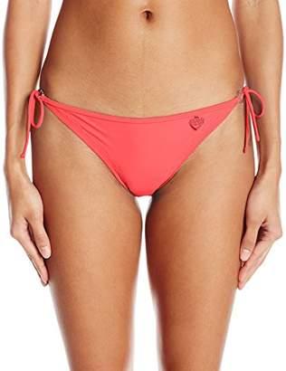Body Glove Women's Smoothies Brasilia Solid Tie Side Bikini Bottom Swimsuit