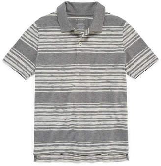 Arizona Short Sleeve Stripe Polo Shirt -Boys 4-20