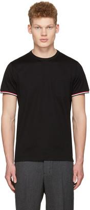 Moncler Black Maglia Pocket T-Shirt $150 thestylecure.com