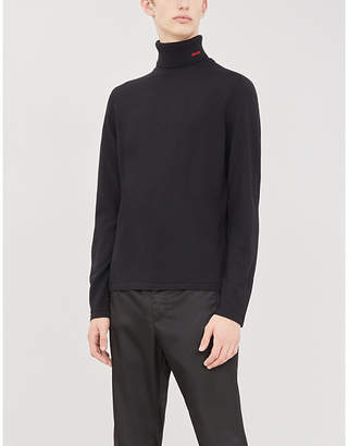 HUGO Turtleneck wool jumper