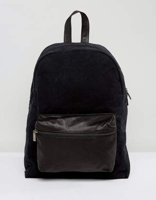 HYMN Hymn Leather Front Pocket Backpack