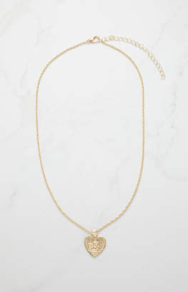 LA Hearts Angel Heart Necklace