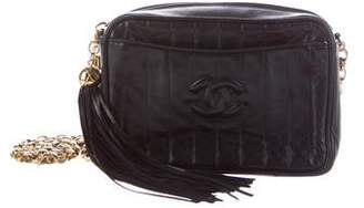 Chanel Vertical Quilt Camera Bag