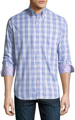 Tailorbyrd Casual-Fit Buffalo Check Sport Shirt