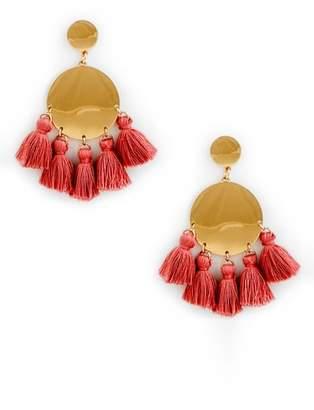 Sole Society Tango Tassel Earrings