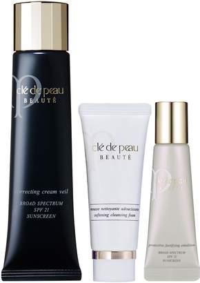 Clé de Peau Beauté Correcting Cream Veil & Skin Care Set