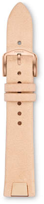 Fossil 18mm Cream Leather Watch Strap