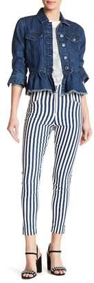 Romeo & Juliet Couture Striped High Waist Pants