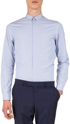 The Kooples Men's Striped Long-Sleeve Shirt with Classic Point Collar