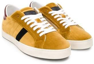 D.a.t.e. Kids velvet sneakers