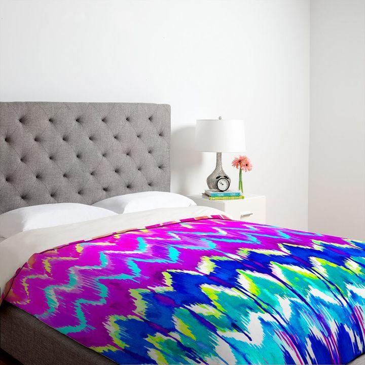 Deny designs holly sharpe summer dreaming duvet cover - king